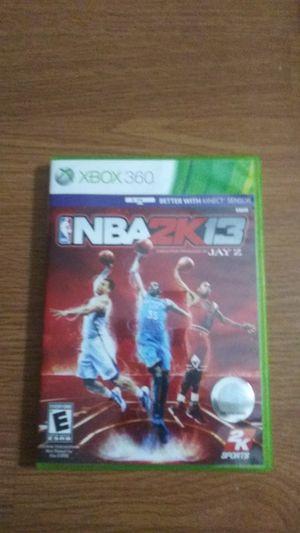 NBA2K13 for Sale in Spanaway, WA