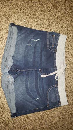 Justice girls denim shorts size 16 Thumbnail