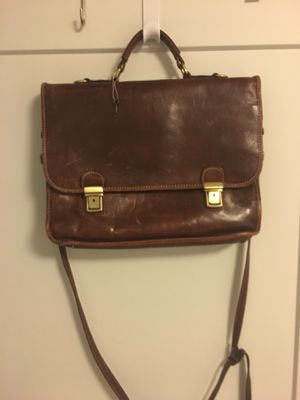 Italian Leather Briefcase for Sale in Washington, DC