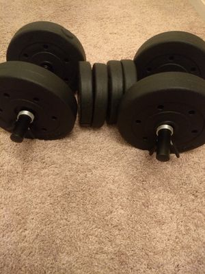 40 lb dumbbells, not used 😁 for Sale in Ashburn, VA