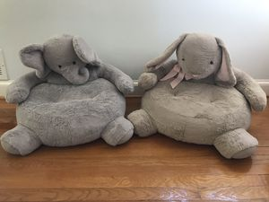 Pottery Barn baby critter chairs $75 for both for Sale in Alexandria, VA