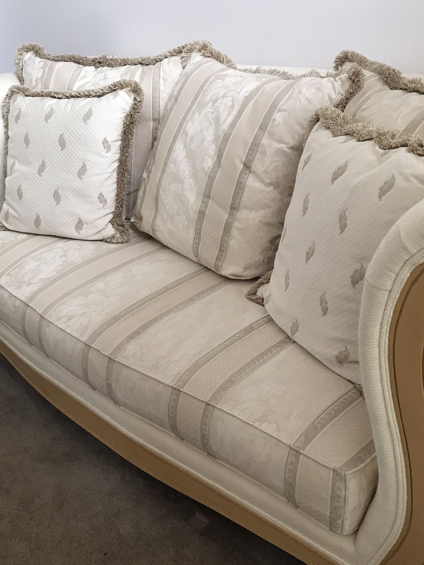 Thomasville Chair and Loveseat