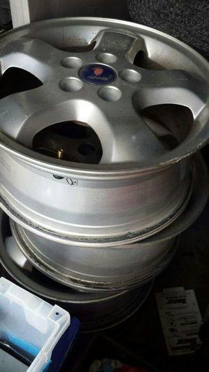 "Set of 4 stock Saab 16"" wheels / Rims for Sale in Sterling, VA"