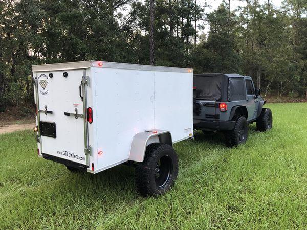 Diamond cargo trailer 4x8 for Sale in Hernando, FL - OfferUp