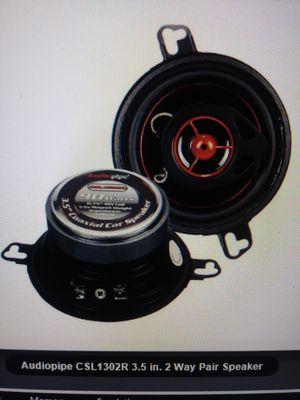 Audio pipe 3 1/2. Speakers for Sale in Orlando, FL