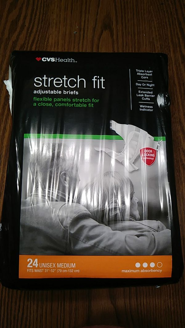 CVS Health fitted briefs and stretch fit adjustable briefs for Sale in  Pittsburgh, PA - OfferUp