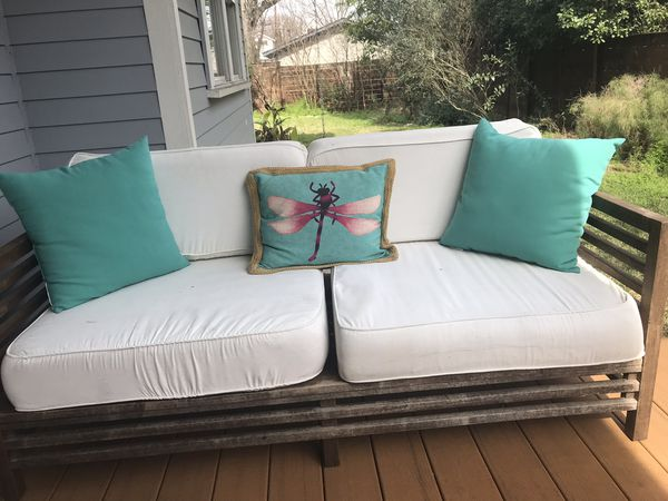 World Market Outdoor Furniture Set Couch Chair