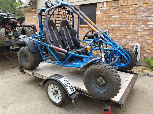 150cc Go Cart Spider Kart Good Condition For Sale In Humble Tx