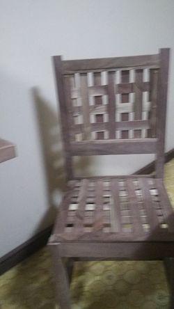 Walnut chairs Thumbnail