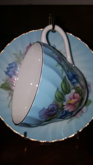 Crown Staffordshire Fine Bone China Teacup for Sale in Detroit, MI