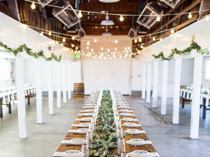 Artificial Eucalyptus Garland w/ Willow Leaves