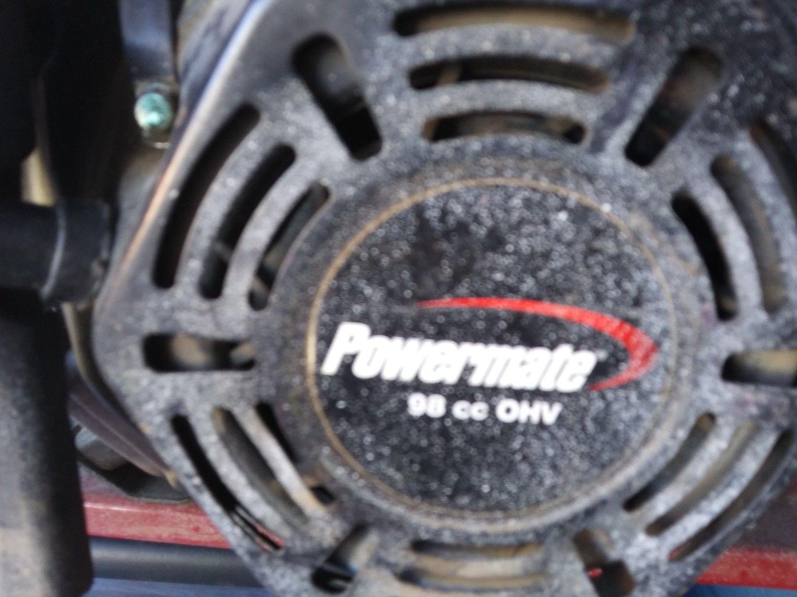 Photo Coleman PowerMate 1200w portable generator