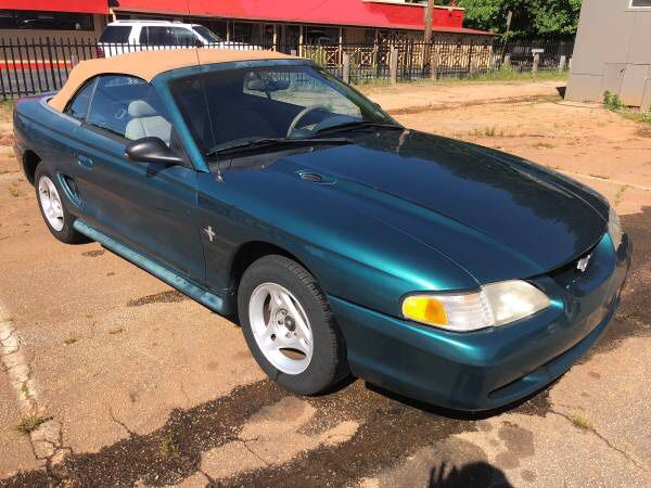 96 ford mustang transmission