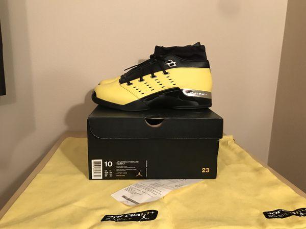 3ec0a04057d Retro Jordan 17 alternate lightning sole fly size 10 ds with receipt ...