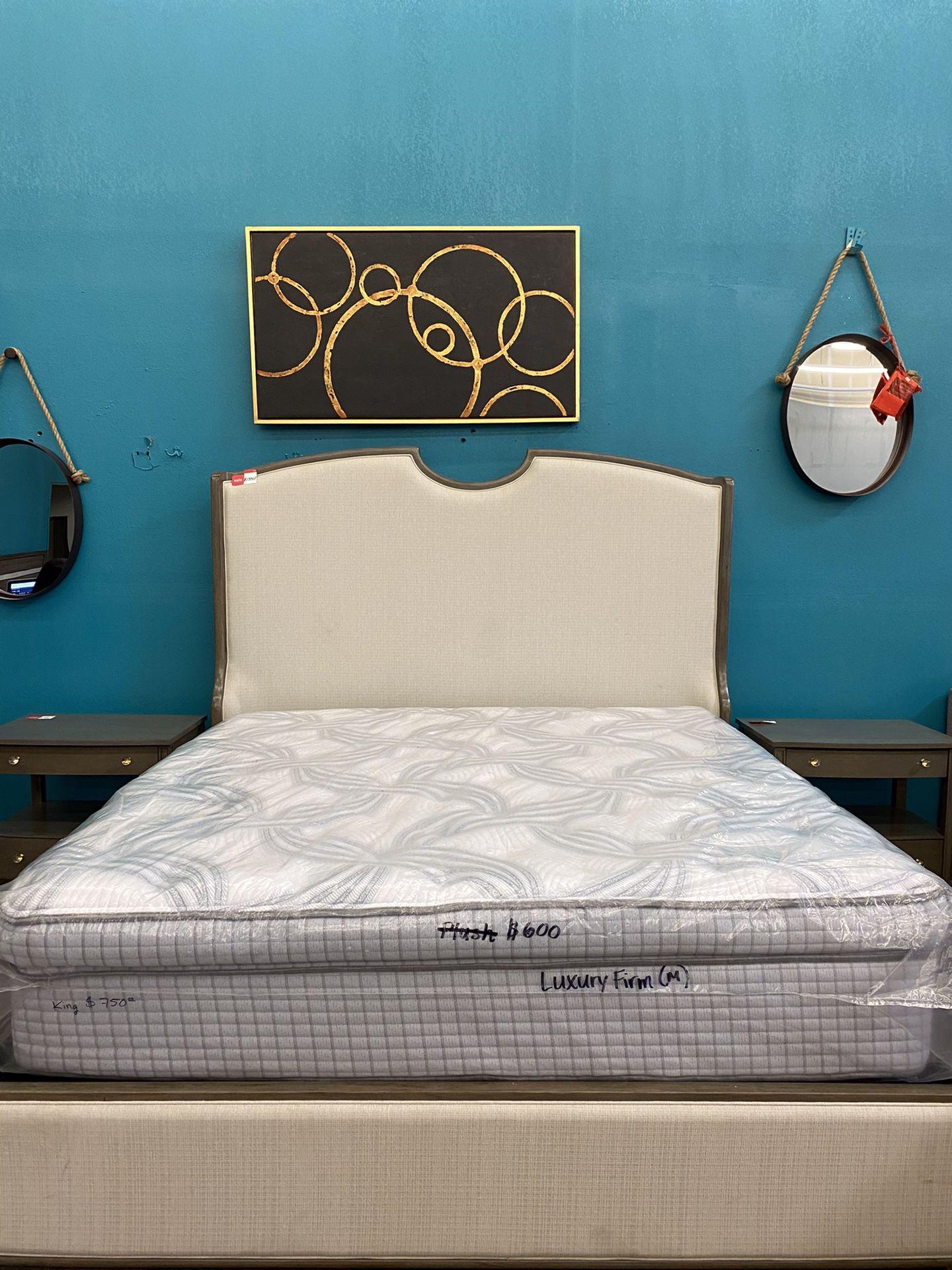 Scott Living King Size Mattress Luxury Firm Pillow Top