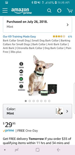 OurK9 Anti Dog Barking Collar for Sale in Halethorpe, MD