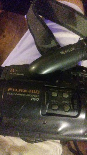 Fujix Hi8 H80 video camcorder for Sale in Dallas, TX