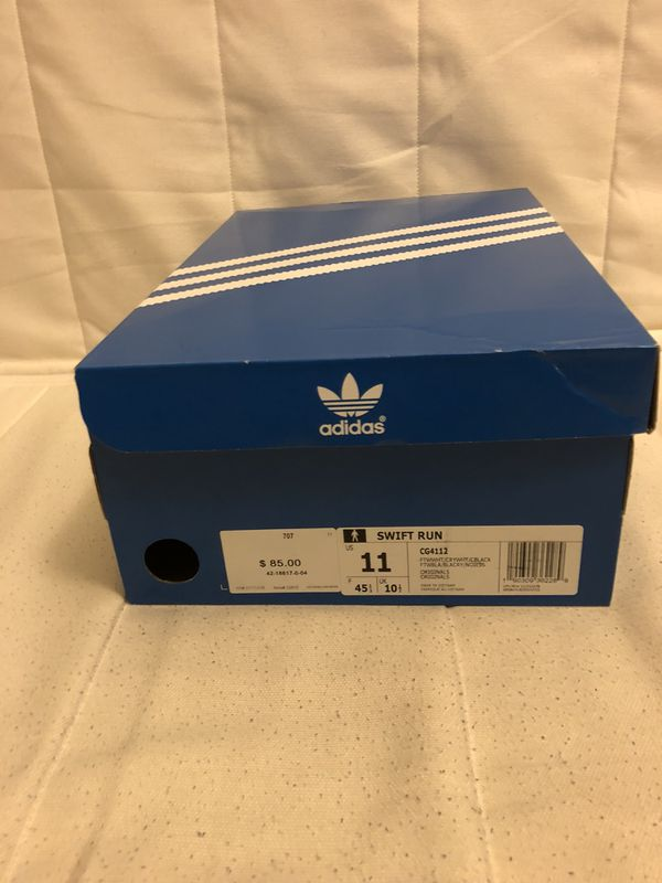 82179ad5e11c New In Box Adidas Swift Run Mens Size 11 Shoes for Sale in San Diego ...
