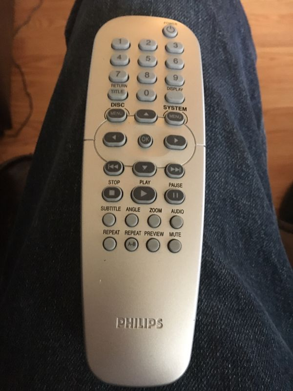 Philips DVD player remote control for Sale in Tigard, OR - OfferUp