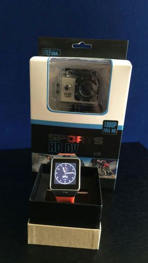 Cool smart watch and sports HD cameras ' Christmas set' for Sale in Miami, FL