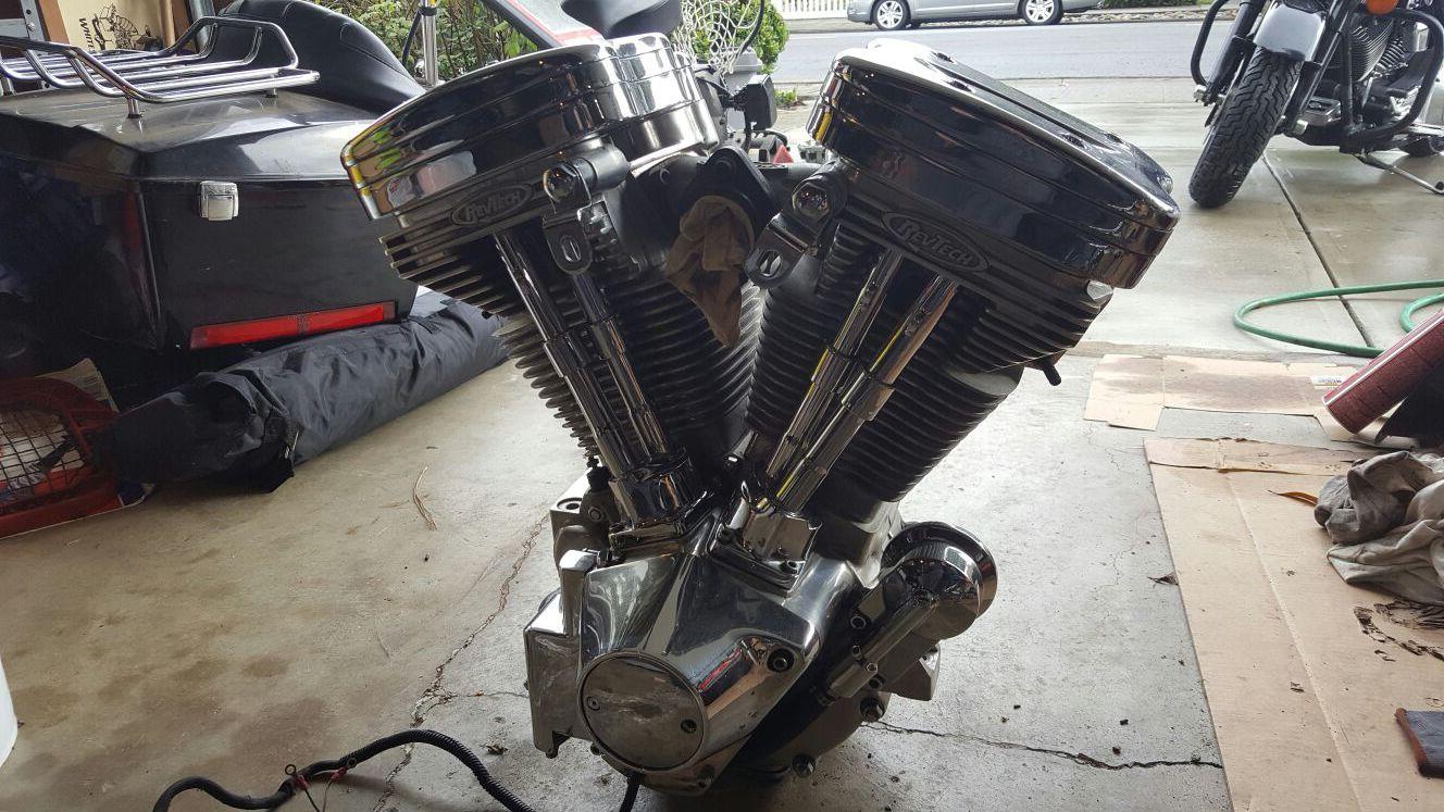 "100"" RevTech Harley Davidson Evo Engine"