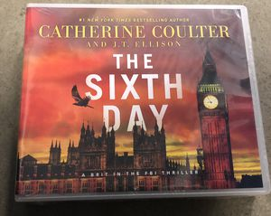 The Sixth Day (audio CDs) by Catherine Coulter for Sale in Manassas, VA