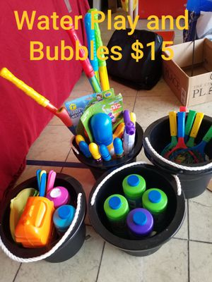 Bubbles & Water Play for Sale in Spring Valley, CA
