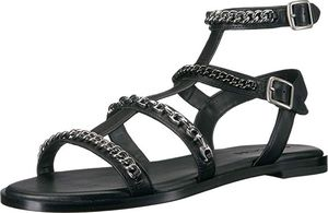 Photo Coach Black and Silver Sandals Wm. Sz. 5