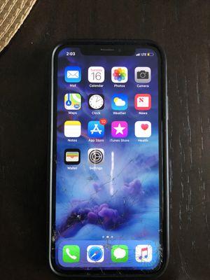 iPhone X 62gig for Sale in Glen Burnie, MD