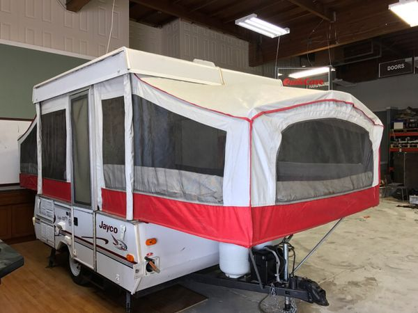 1998 Jayco Eagle 8 SD Tent Trailer For Sale In San Jose CA