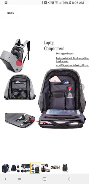 Security Backpack for Traveling or Everyday Use for Sale in Gilbert, AZ