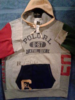 Polo stadium hoodie XL supreme bape Thumbnail