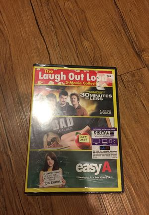 """New 3 DVD's Still In Plastic """"30 Minutes or Less"""", """"Bad Teacher"""", """"Easy A"""" for Sale in Houston, TX"""