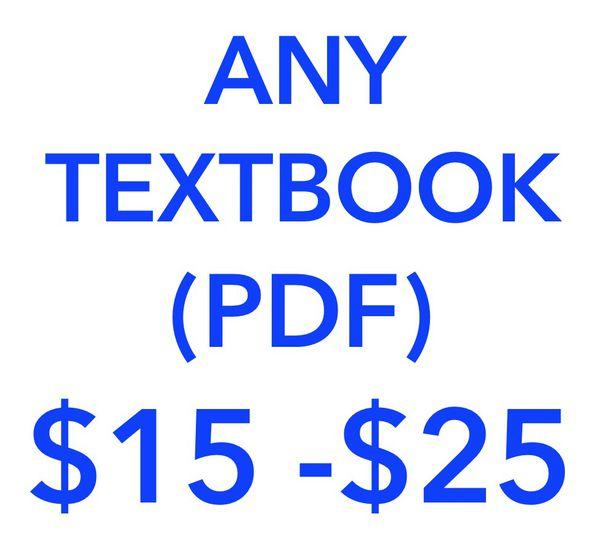Biology, Anatomy, Chemistry, Algebra, Calculus, Psychology, etc    PDF  Textbooks for Sale in Orange, CA - OfferUp