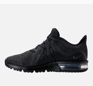 Air max sequent black NWT size 7 for Sale in Silver Spring, MD