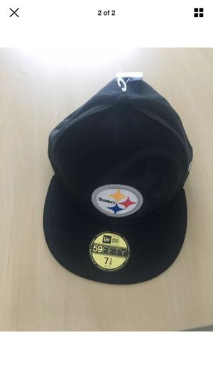 Pittsburgh Steelers hat size 7-3/8 for Sale in Miami, FL