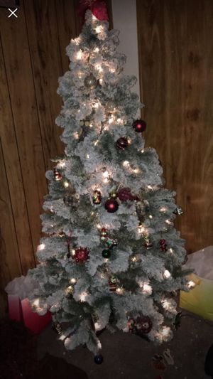 Last minute Christmas tree lights are included for Sale in Martinsburg, WV