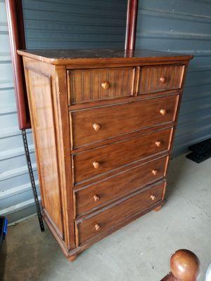 Dresser real wood for Sale in Bunker Hill, WV