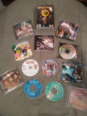 assorted pc game pack for Sale in Austin, TX