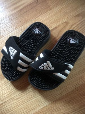 Kids addidas slippers size 13 for Sale in Washington, DC
