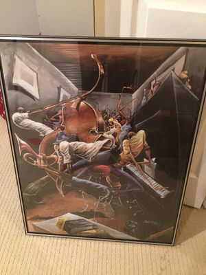 Rent Party Framed Poster 28 L x 22W for Sale in Chevy Chase, MD