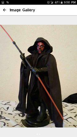 Star Wars Darth maul 12in figure Thumbnail