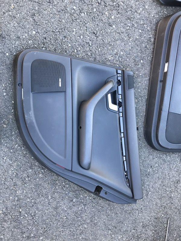 Audi S4 Door Trim/Door Cards Black