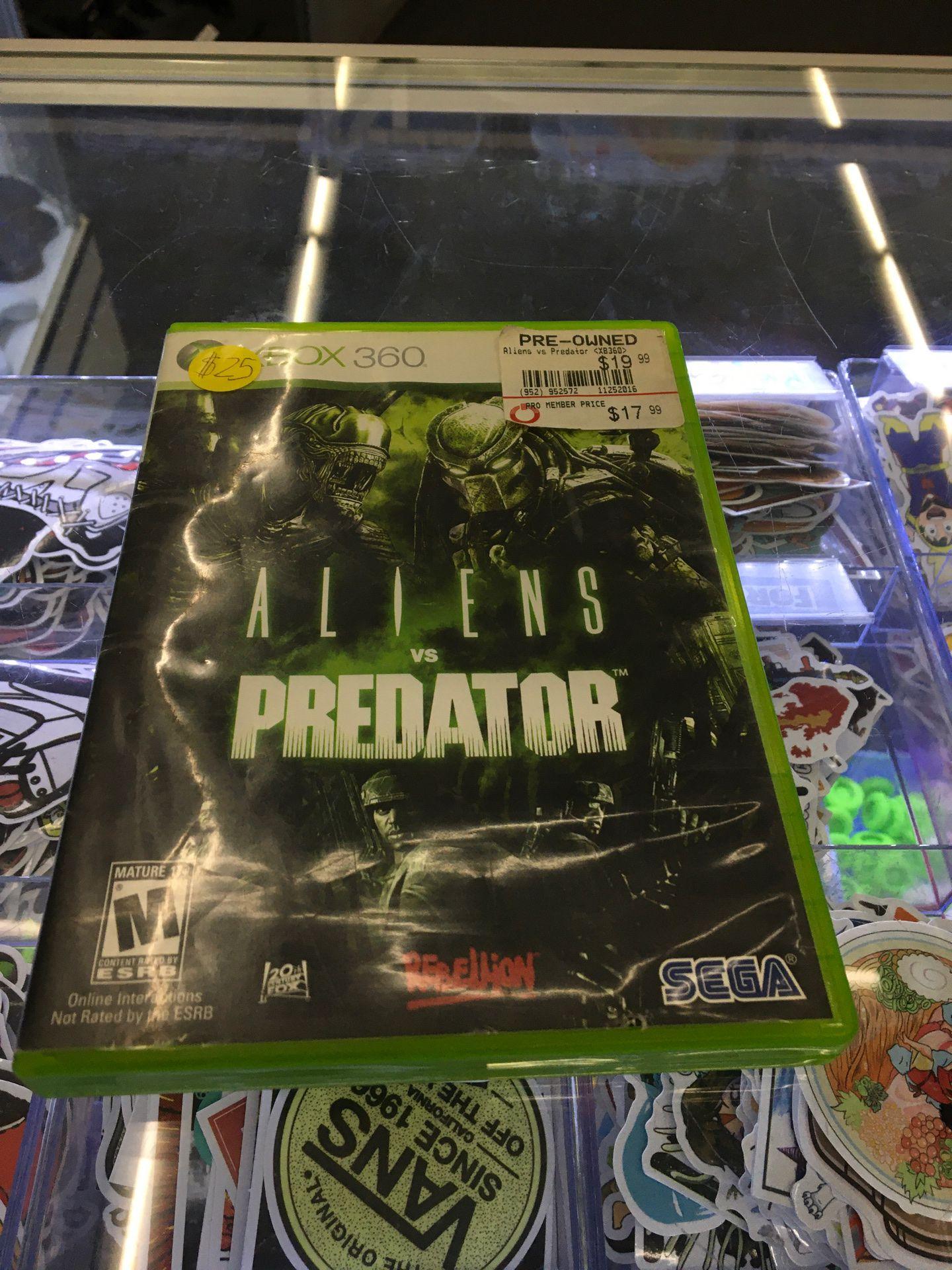Aliens vs Predator for Xbox 360