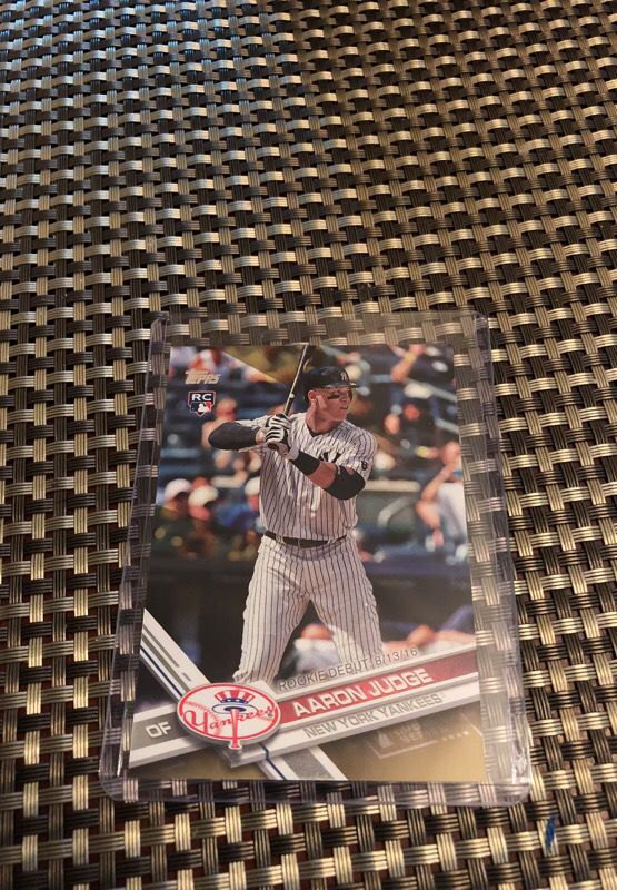 Baseball cards AARON JUDGE RC refractor for Sale in Cape