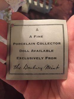 2 vintage Danbury Mint porcelain dolls Thumbnail