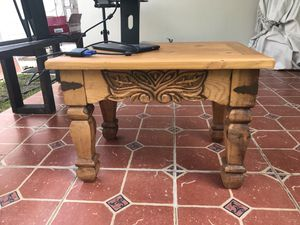 Small table wood for Sale in Hollywood, FL