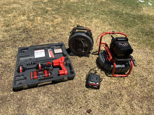 Ridgid Seesnake Sewer camera, with locator, transmitter, micro drain kit  for Sale in Gilbert, AZ - OfferUp