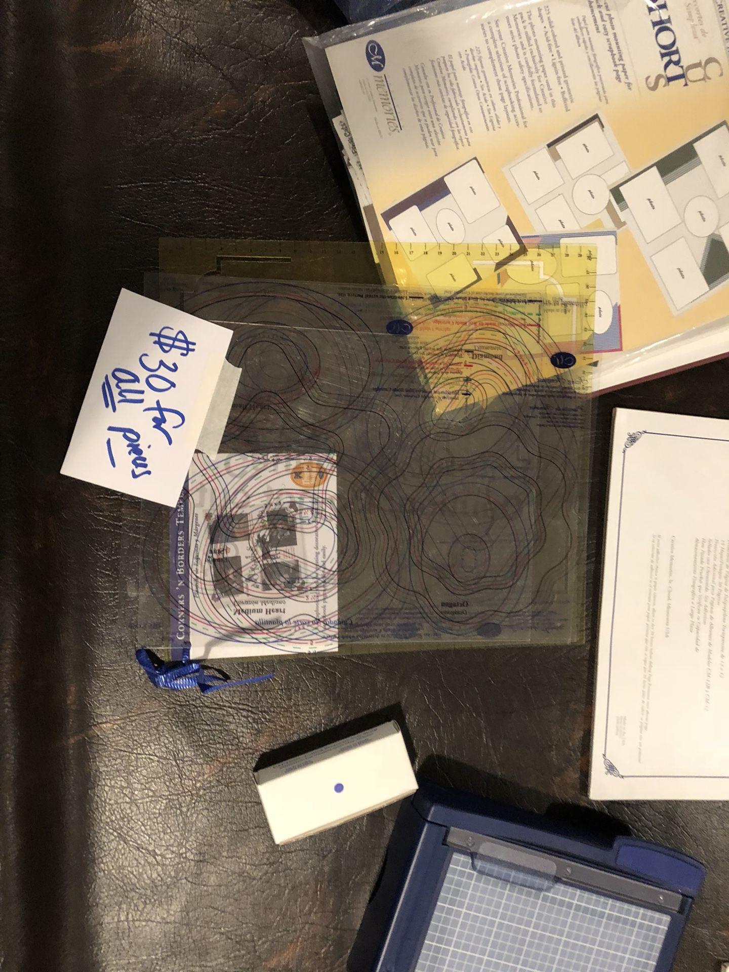 Creative Memories Scrapbooking materials