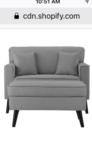 Brand New Love Seat w/ Ottoman for Sale in Washington, DC